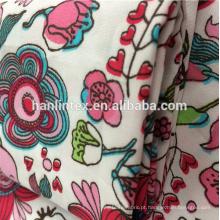Têxteis tecido de algodão calico branco