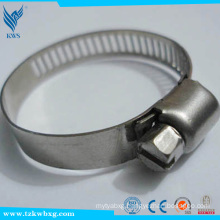 EN 306 14.2mm stainless steel hose hoops made in china used in car