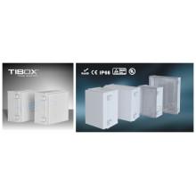 Boîtier en plastique 2015 de la série Tibox Mg (loquet en plastique + type charnière)