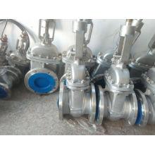 Robinet d'arrêt de bride d'acier inoxydable pour le gaz de pétrole et l'eau (Z41F)