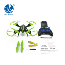 2.4G WIFI Quadcopter 4CH 6-Axis Gyro Tiempo real Video Drone Quadcopter con Altitude Hold Track Modo de vuelo