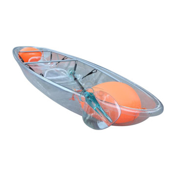 KidDouble Touring Blue Ocean Plastic Fishing Kayak