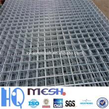 2015 nuevos productos 2x2 galvanizado malla de alambre soldado para panel de cerca