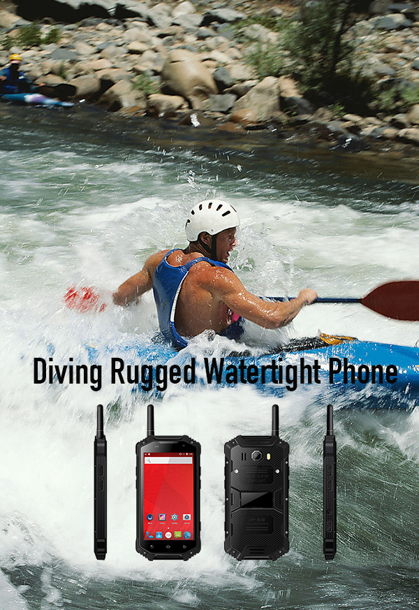 Diving Rugged Watertight Phone