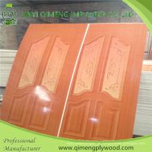 Madeira compensada lustrosa da pele da porta de 915X2135X2.7mm HPL para o mercado de Indonésia