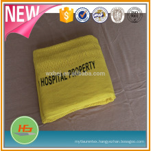 100% Cotton Thermal Hospital Blankets Single Size