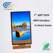 Atualização Brilho 800nit 7 polegadas Mipi Interface TFT