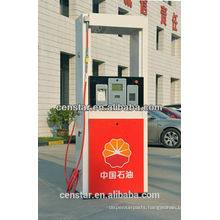 Single High Hose Stand Alone CNG Dispenser