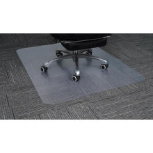 Tapis de sol en plastique transparent pour chaise de bureau en polycarbonate