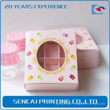 Boîte de papier d'emballage de gâteau de fantaisie de Sencai