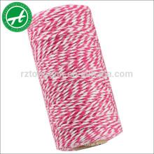 Corde de coton multicolore pour cordes de ficelle de boulangerie pour les ornements DIY