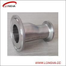 Réducteur excentrique serré de montage de tuyau sanitaire d'acier inoxydable