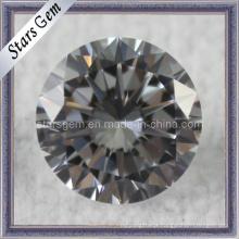 Forever Shining 10 Corações e 10 Arrows Diamante Sintético CZ Gemstone