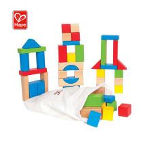 Hape Wholesale Kids Rainbow Color Cheap Wooden Blocks Toy,Wooden Building Blocks
