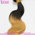 Оптовая дешевые 6a настоящий клубок свободных цветных бразильский волос ткать
