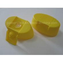 Ovale Kunststoff-Schraubkappe mit Kreuz-Silikon-Ventil (PPC-PSVC-012)