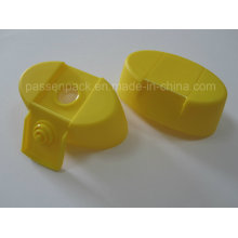 Tampa de parafuso de plástico oval com válvula de silicone em forma de cruz (PPC-PSVC-012)