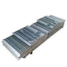 Galvanized Floor Steel Bar Grating | Walkway/ Platform Grating for Mining Project Best Price