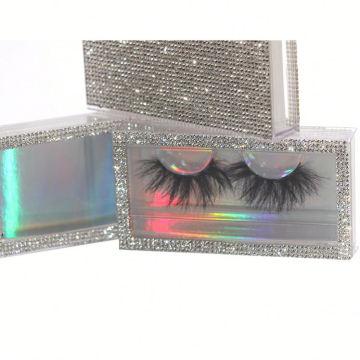 F116H Hitomi Whole Sales 3d Mink Eyelashes Long Eyelash soft natural mink eyelashes Fluffy 25mm Magnetic Mink Eyelashes