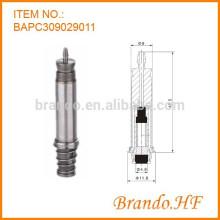 Material de acero inoxidable Vástago de solenoide normalmente cerrado de 3 vías para la válvula solenoide de tinta