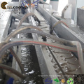 WPC Profile Extruder Production Line / Wood Plastic PVC Foam Double Screw Extruder