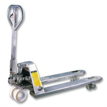 CE and ISO Certificate Stainless Steel Pallet Truck with after sales services