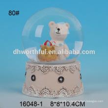 Высокое качество смолы водное поло с рождественским медведем