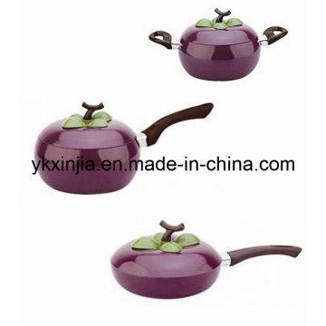 Kitchenware Aluminum Fruit Frying Pan Sauce Pan Sauce Pot Cookware