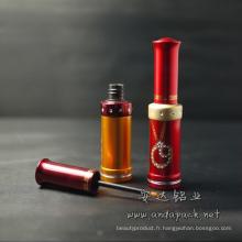 Eyeliner Tube cosmétiques de couleur aluminium