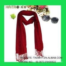Bufanda sólida, mantón de la bufanda de Csilk, estilo sólido clásico, accesorios de moda, mantón de seda crudo