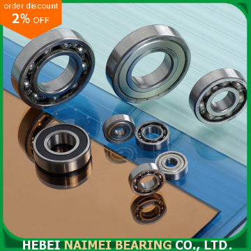 6309 Chrome Steel dalam Groove Ball Bearing