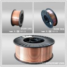 Copper cored co2 gas shielded welding wire rod price per kg