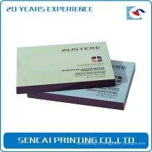 Caixa 100% cosmética do presente completo do papel de impressão do fabricante / caixa de presente de papel cosmética