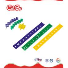 Пластиковая складная линейка, офисная линейка (CB-ED007-S)