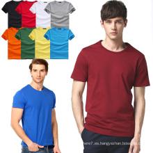 2017 hombres al por mayor de algodón camisetas moda fitness camisetas