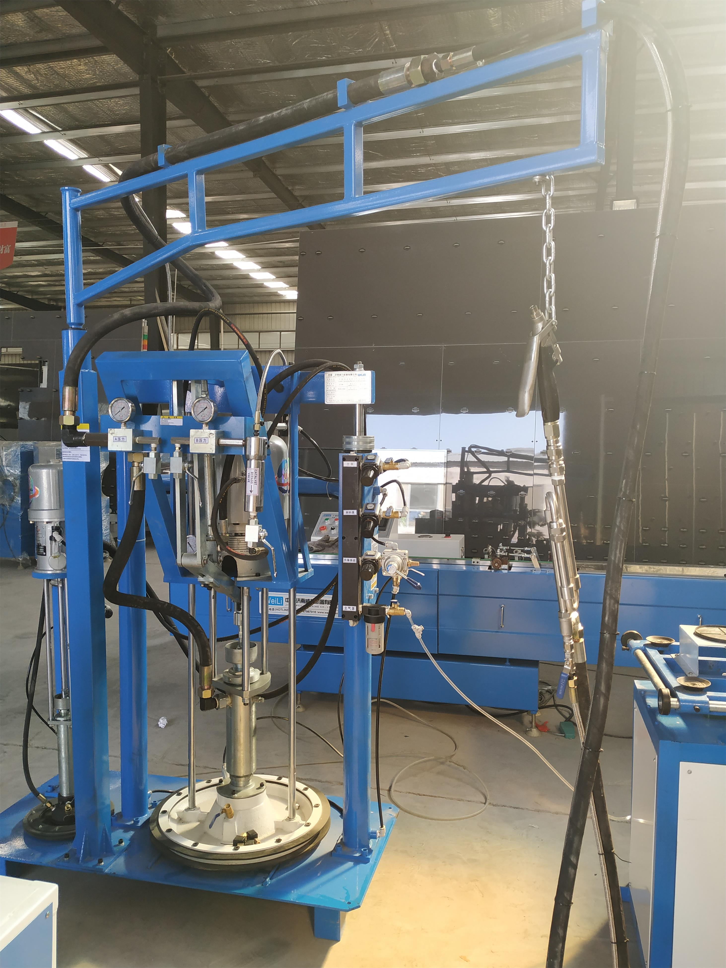 manual silicone sealant coating machine