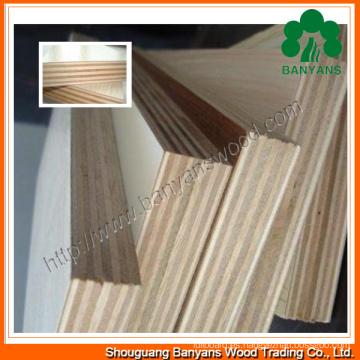 2-30mm de alta calidad de madera contrachapada comercial de melamina