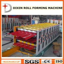 Máquina formadora de rolo de folha de cobertura de três camadas