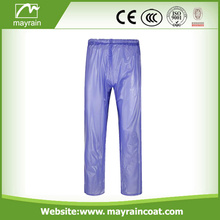 Raincoat Factory Sale Promotion Pantalon de pluie en PVC