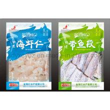 Gefrorene Seefutter Plastikverpackungsbeutel