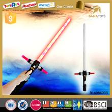 Electric laser de juguete LED espada telescópica con sonido