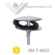 EM-T-A022 Sanitery ware SUS partes de drenaje de agua lavabos del baño con arandela de goma