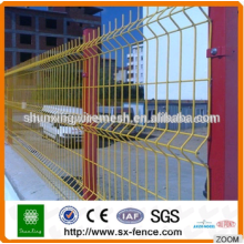 Hot sale iron fence best perimeter fence/wire mesh hook Fence