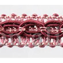 Polyester Chainette Vorhang Dekorative Trimm Spitze Weiß Perlen Vorhang Dekoration