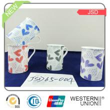 Nouvelle tasse de porcelaine de promotion de conception avec de haute qualité