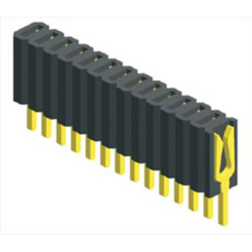 1.27mm Single Row Straight Type Female Connector
