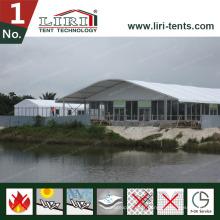Dome Shape House 50 FT X 200 FT Grande Arche Tente pour Évènement en Plein Air