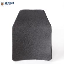 NIJ III lightweight bullet proof panel ballistic plate single-curve pure cheap price for armor steel plate