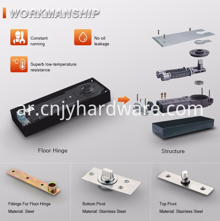 Two Way Glass Door Hinge