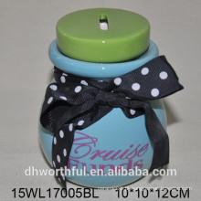 Caixa de poupança de dinheiro cerâmica com gravata